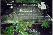 James and Hannah's grave