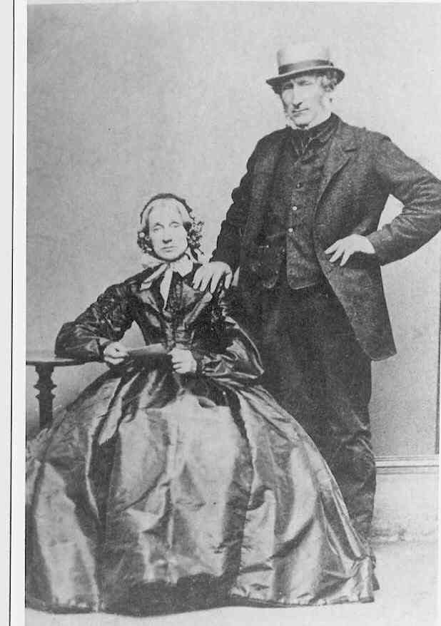 James Croasdell and his wife Hannah